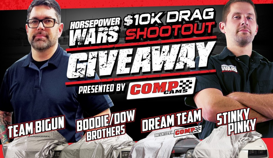 $10K Drag Shootout Giveaway - Win a $10K Drag Car!
