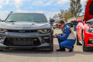 Pony Wars: From the Driver's Seat During Road Course Testing