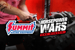 Horsepower Wars Partnership Continues with Summit Racing Equipment
