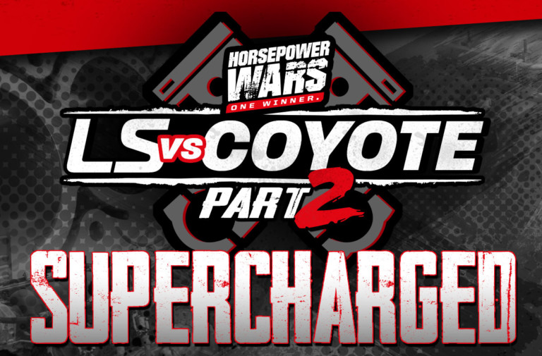 LS vs. Coyote 2, Episode 1:The Supercharged Engine Shootout