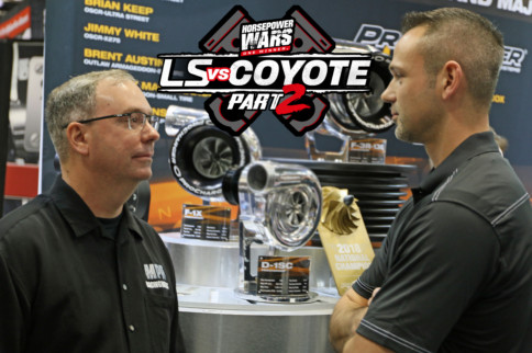 LS vs. Coyote 2 Supercharged Engine Shootout - Meet The Builders