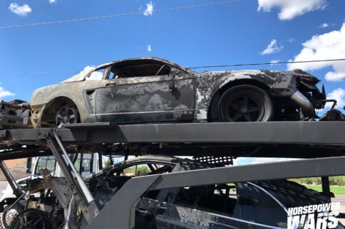 Twist Of Fate: $10K Drag Shootout Cars Damaged In Freak Fire