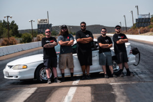 "$10K Drag Shootout 3: Team Out in Front's ""White Boy Rick"" Mustang"