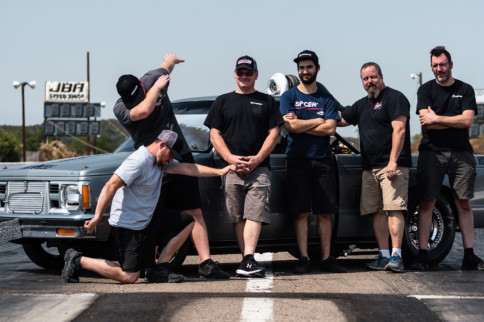 "$10K Drag Shootout 3: Inside Team MAK And The ""Gap Train"" S-10"